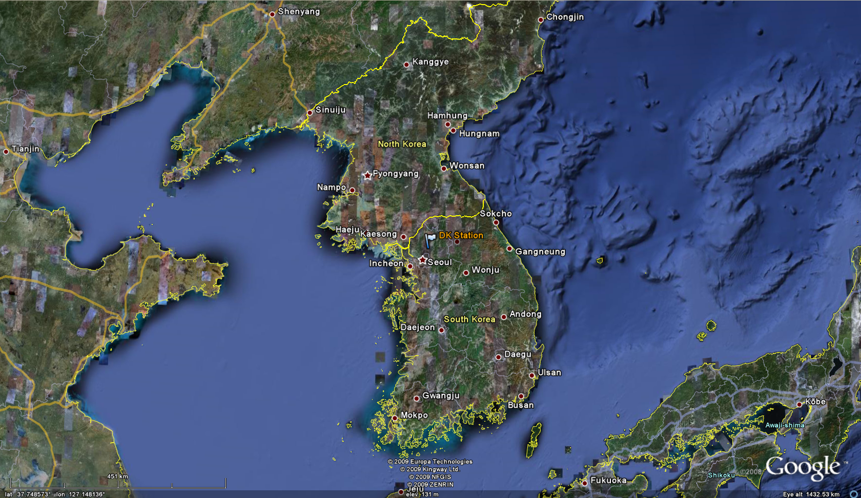 Ceop asia korean peninsula reference site dk station gumiabroncs Images