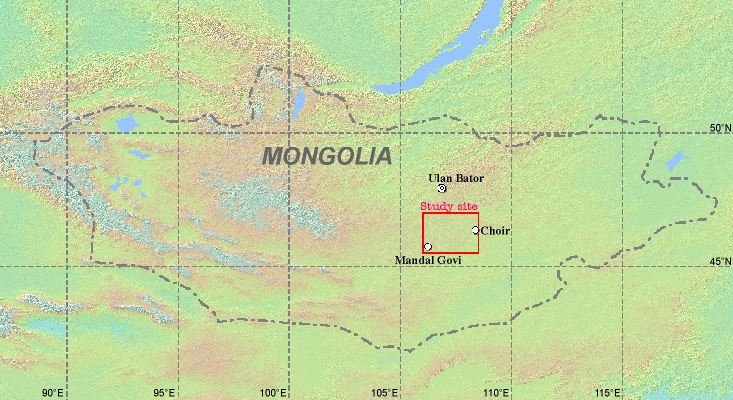 CEOPAP Mongolia Reference Site A3 Station